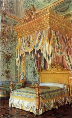 State Bedroom - Pavlovsk Palace & Park - Country Residence of the Russian Imperial Family