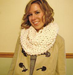 Chunky Crochet Winter Cowl