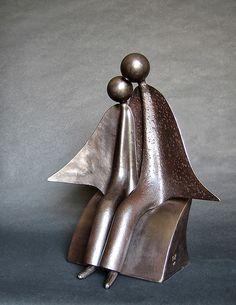 Jean-Pierre Augier, 1950 | Metal sculptures