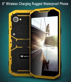 "Original 8 Octa Core A10 6"" Smartphone 1920x1080 FHD Android 3GB RAM Wireless Charging IP68 Rugged Slim Waterproof phone 4G F"