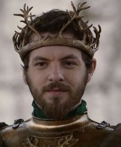 """King Renly Baratheon is a recurring character in the first and second seasons. He is played by guest star Gethin Anthony, and debuts in """"Lord Snow."""" Renly is a younger son of House Baratheon who is the Lord of Storm's End and has served on the small council as Master of Laws. Following the death of his oldest brother King Robert Baratheon, Renly claims the Iron Throne for himself, contesting the claims of his nephew Joffrey Baratheon and his older brother Stannis Baratheon. Renly is..."""