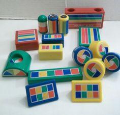 Hilco Wonder Tree Magnet Toy Building Blocks People Lot of 16 Pieces | eBay