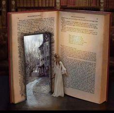 Step Into the World of Books I Love Books, Books To Read, My Books, Film Books, Pics Of Books, Library Books, World Of Books, Book Nooks, Reading Nooks