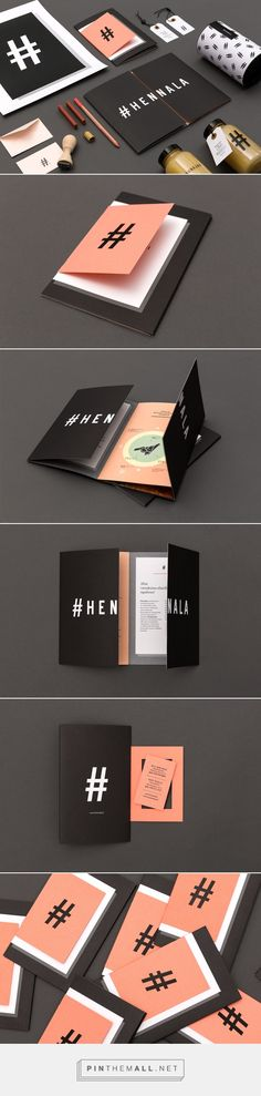 Hennala Visual Identity; identity set for MPM; clean; sophisticated