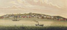 Pictou, 1830, by W.Kitchin. From the Winkworth Collection