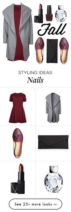 """Unbenannt #384"" by sabrinalutz on Polyvore featuring River Island, ONLY, OPI, NARS Cosmetics and Accessorize"