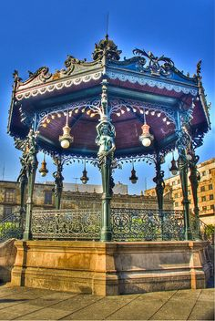 Guadalajara, Mexico:  Every city and town has a bandstand in the centre of the zocalo (main square).