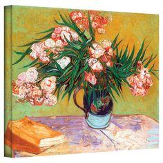 Found it at Wayfair - Wild Roses II by Van Gogh