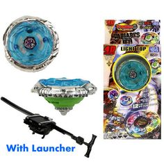 Flashing Kids Metal Beyblade Metal Fusion Children Metal Fury Beyblades Set with Launcher Spinning Top Toys Avatar, Spinner Toy, Spinning Top, Top Toys, Beyblade Burst, Christmas Gifts For Kids, Classic Toys, 7th Birthday, Games For Kids