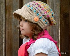 CROCHET PATTERN  Summer Slouchy  a slouchy hat with por TheHatandI, $5.50