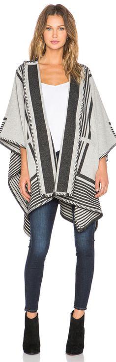 Blanket Wrap Poncho