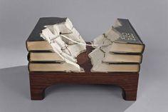 Libros convertidos en verdaderas obras de arte Imagenes de humor