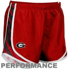 Georgia Bulldogs Performance Nike Shorts