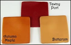 Clay recipes for the Pantone Fall colors Tawny Port, Autumn Maple and Butterum