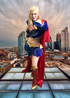 #cosplay #costume #photo #greenscreen #cosmoviex #festivaladelfumetto #fiera #novegro #milano #supergirl #dccomics