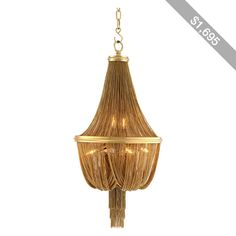 Eichholtz Martinez Chandelier - Gold - Small