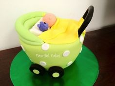 pram cake By FancifulCakes on CakeCentral.com