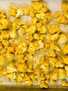 Helene's Roasted Cauliflower recipe