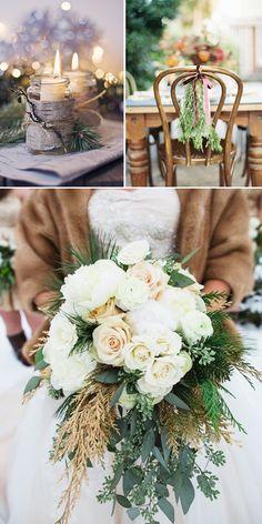 decoracion boda invierno