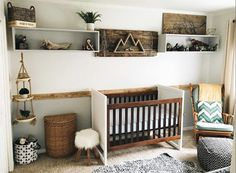 Rustic nursery ideas! I love the style of these, and how they incorporate different textures. I especially love how they don't stick to what's just considered rustic; the dad in the first pic included dinosaurs that were his as a kid! I love dinosaurs too, I can't wait to give my son mine! (scheduled via http://www.tailwindapp.com?utm_source=pinterest&utm_medium=twpin)
