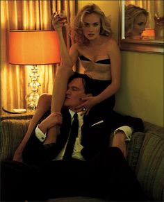 Diane Kruger and Quentin Tarantino in New York Times Magazine (5 photos) - My Modern Metropolis