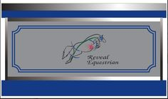 another beautiful vinyl tack trunk designed by www.tacktrunks.net Tack Box, Tack Trunk, Barn Signs, Horse Names, Wood Vinyl, Show Horses, Trunks, Boxes, Beautiful