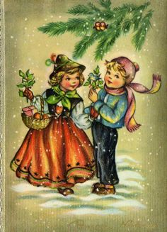 Miss Jane: Christmas Cards 1961