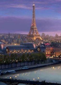 Paris At Dusk...