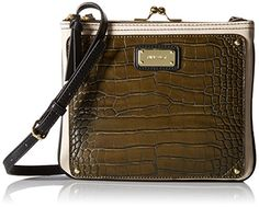 Nine West Jaya Cross-Body Bag Cross-Body Bags Product Features Three-compartment cross-body bag featuring kiss-lock center compartment and hardware logo plaque at front Pockets: 2 exterior Cross-Body Bags Product Description This crossbody is a chic everyday design featuring a gleamin .. http://www.bestwomenbag.com/nine-west-jaya-cross-body-bag/
