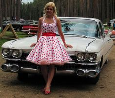50's Vintage Style Dress Pattern