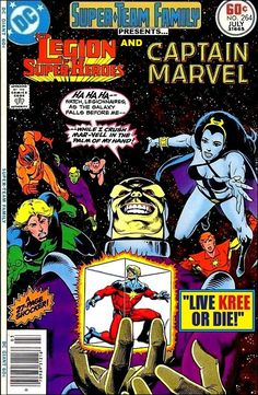 Super-Team Family: The Lost Issues!: Legion of Super-Heroes and Captain Marvel