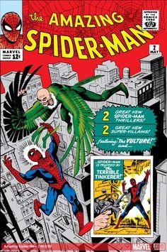 Spiderman #2  (1963)(Steve Ditko)