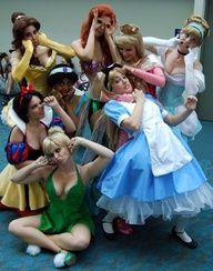 disney princesses costumes