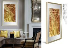 abstract decorative wall painting