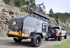 Cricket Trailer, Hiker Trailer, Off Grid Trailers, Off Road Camper, Expedition Vehicle, Off The Grid, Rv Camping, Offroad, Travel Trailers