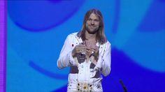 I can't stop laughing at this funny Swedish guy's 'bandana' magic trick