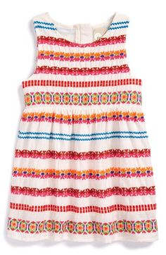 Peek 'Denver' Embroidered Sundress (Baby Girls) available at #Nordstrom