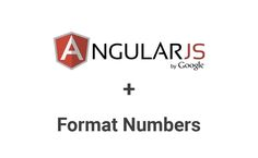 AngularJS provides number filter to format numbers in different ways. You can display numbers in various formats using the number filter in your template.