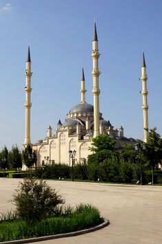 The mosque in #Grosny, #Chechnya.