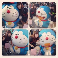 傻貓A夢展wakaka#happy #Doraemon#hot #sunny #beautiful#cat - @winnielam0416- #webstagram
