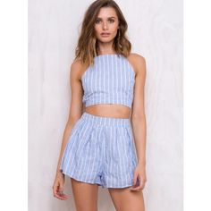 Malibu Heat Mini Shorts (45 AUD) ❤ liked on Polyvore featuring shorts, baby blue, baby blue shorts, hot pants, micro shorts, mini shorts and mini short shorts