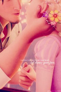 Tangled//And the thing is, I'm not scared anymore. You know what I mean?