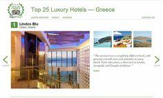 Hotel World, Acropolis, Trip Advisor, United Kingdom, Greece, Awards, Relax, Europe, Luxury