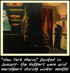 saw this & many other Hopper's at the National Gallery
