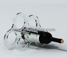 Wholesale acrylic display rack wine display stand bottle display WD-067