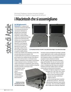 """Rubrica Storie di Apple su Applicando 333 - """"I Macintosh che si assomigliano"""""""