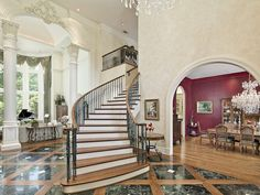Luxury Brick Homes with drive through | Drive in Preston Hollow - Briggs Freeman Sotheby's luxury homes ...