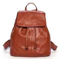 Mejor estilo universitario mochilas para mujeres mochila de viaje de piel [AS90016] - €72.84 : bzbolsos.com, comprar bolsos online