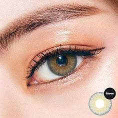 Natural Contact Lenses, Brown Contact Lenses, Green Contacts Lenses, Color Contacts, Best Colored Contacts, Circle Lenses, Dark Eyes, Beautiful Eyes, Eye Color