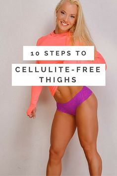 Bulgy cellulite in your upper leg and thigh regions is a big headache for many women who are concerned about their self image. Of course, genetics comes into play with this issue, as with many